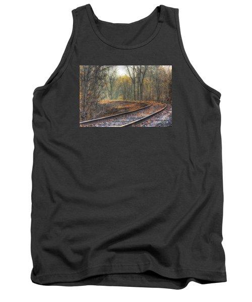 Autumn Tracks Tank Top
