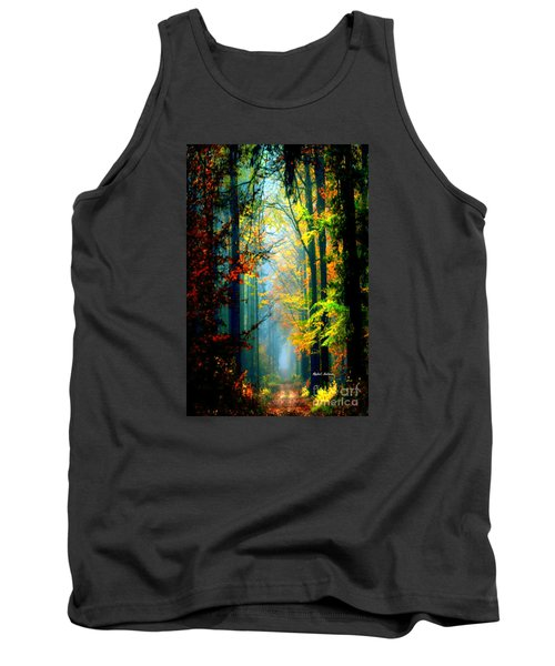 Autumn Trails In Georgia Tank Top
