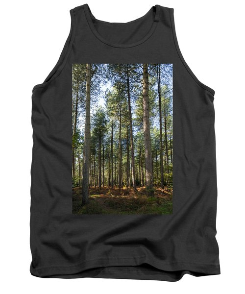 Autumn Tranquil Forest Tank Top