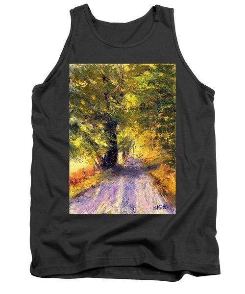 Autumn Walk Tank Top by Gail Kirtz
