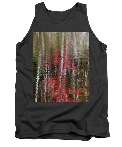 Autumn Water Color Tank Top