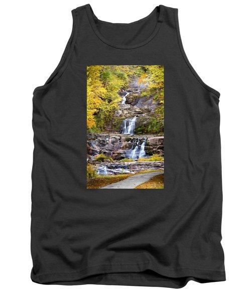 Autumn Waterfall Tank Top by Brian Caldwell