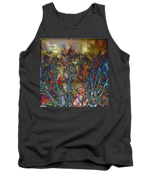 Autumn Woods Tank Top