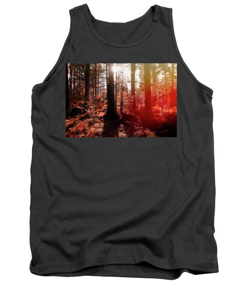 Autumnal Afternoon Tank Top