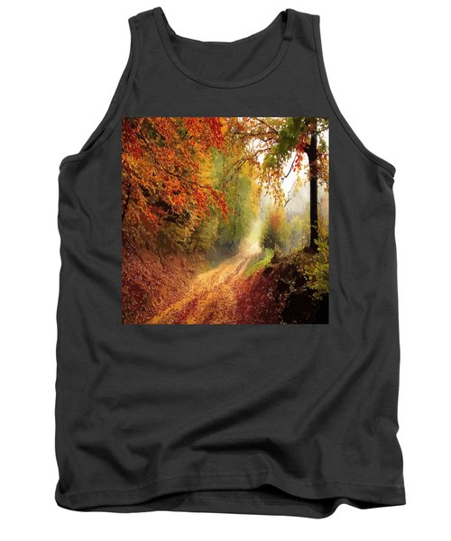 Autumnal Pathway Tank Top