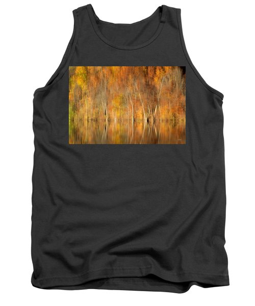 Tank Top featuring the photograph Autumns Final Palette by Everet Regal