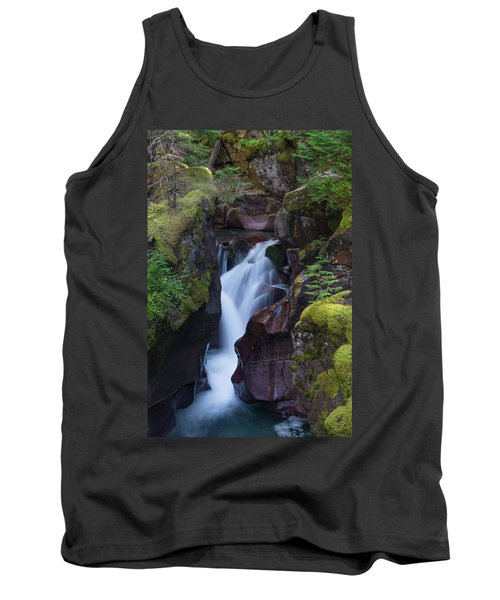 Tank Top featuring the photograph Avalanche Gorge 3 by Gary Lengyel