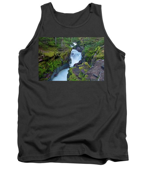 Tank Top featuring the photograph Avalanche Gorge 7 by Gary Lengyel
