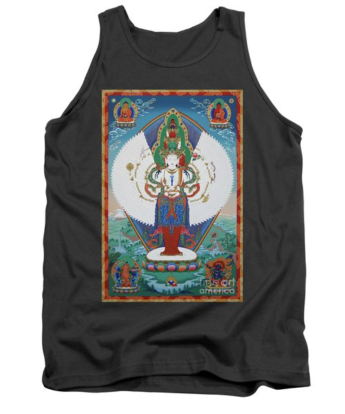 Avalokiteshvara Lord Of Compassion Tank Top