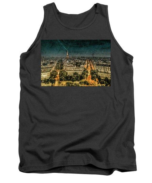 Paris, France - Avenue Kleber Tank Top
