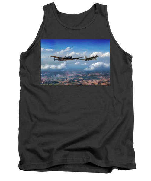 Tank Top featuring the photograph Avro Sisters  by Gary Eason