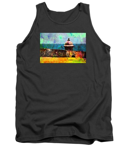 Awesome Caribbean Tank Top