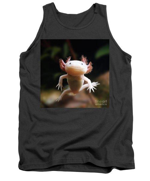 Axolotl Face Tank Top