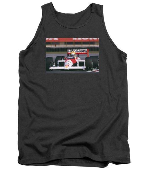 Ayrton Senna. 1988 Mexican Grand Prix Tank Top