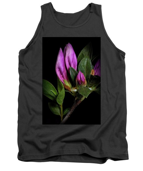 Azalea Buds Tank Top by Richard Rizzo