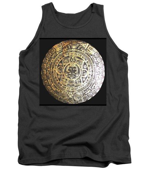 Aztec Calendar Tank Top