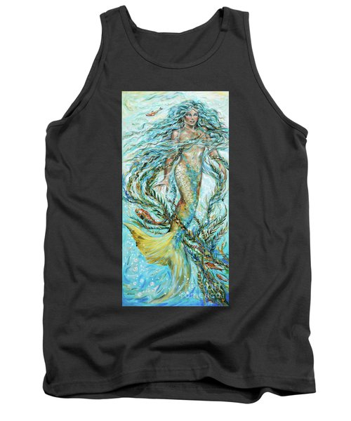 Azure Locks Tank Top