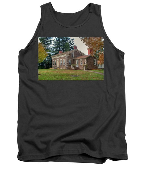 Tank Top featuring the photograph Babcock House Autumn 13937 by Guy Whiteley