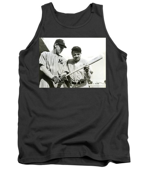 Babe Ruth And Lou Gehrig Tank Top