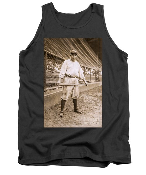 Babe Ruth On Deck Tank Top