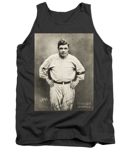 Babe Ruth Portrait Tank Top