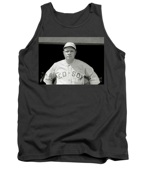 Babe Ruth Red Sox Tank Top