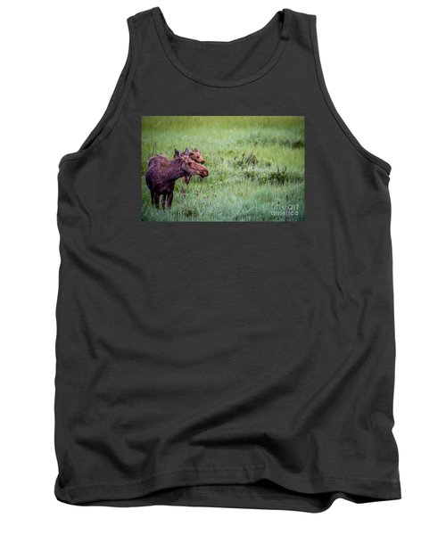 Tank Top featuring the photograph Baby And Me by Sandy Molinaro