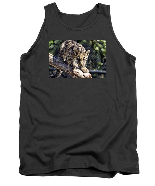 Baby Clouded Leopard Tank Top