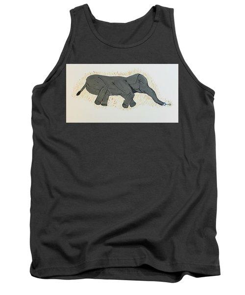 Baby Elephant  Tank Top