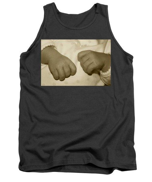 Baby Hands Tank Top by Ellen O'Reilly