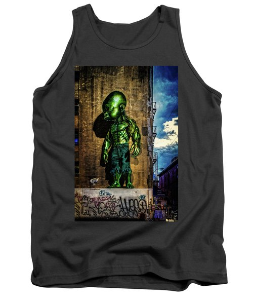 Tank Top featuring the photograph Baby Hulk by Chris Lord