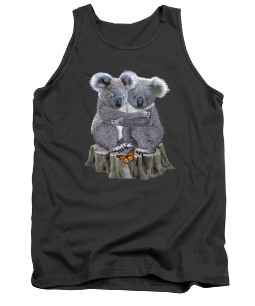 Baby Koala Huggies Tank Top by Glenn Holbrook