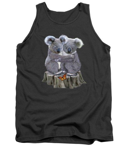 Baby Koala Huggies Tank Top by Glenn Holbrook