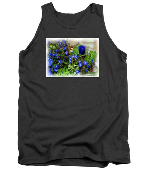 Tank Top featuring the painting Babys Got The Blues by Patricia Griffin Brett