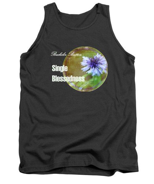 Bachelor Button 2 Tank Top