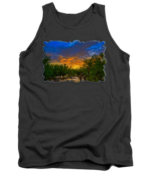 Back Alley Sunset H35 Tank Top
