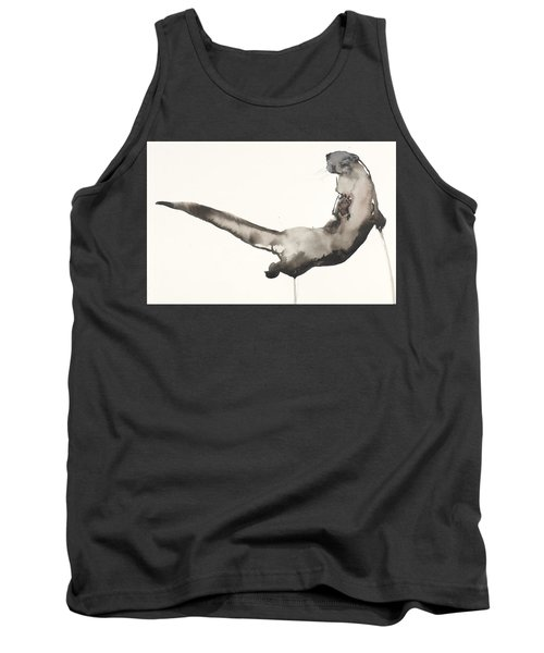 Back Awash   Otter Tank Top by Mark Adlington