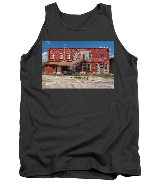 Tank Top featuring the photograph Back Lot by Christopher Holmes