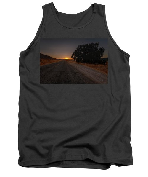 Back Road From Bradley Tank Top