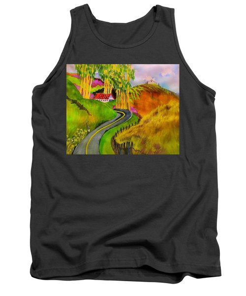 Backroads Sonoma County  Tank Top