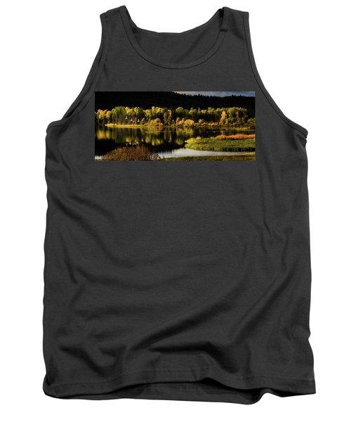 Backwater Blacks At Oxbow Bend Tank Top