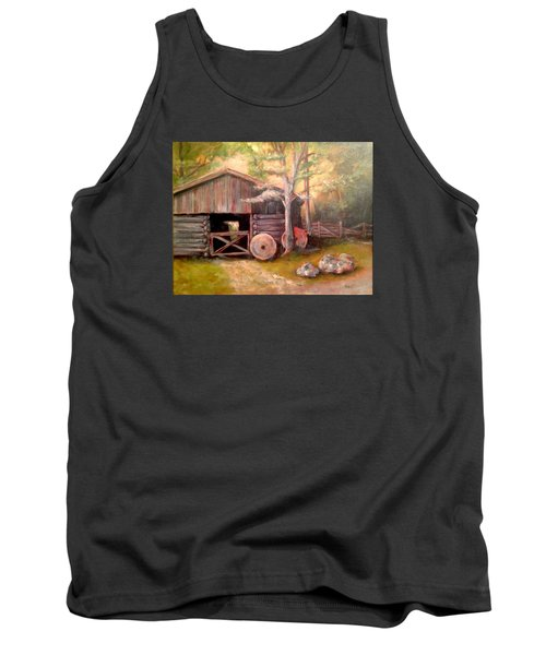 Backwoods Barn Tank Top