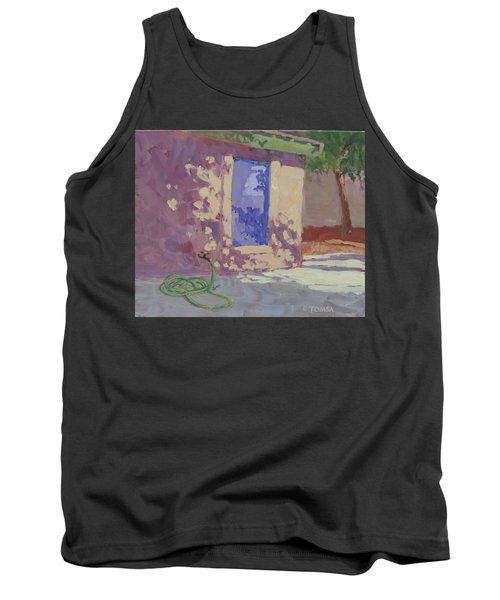 Backyard Shadows Tank Top
