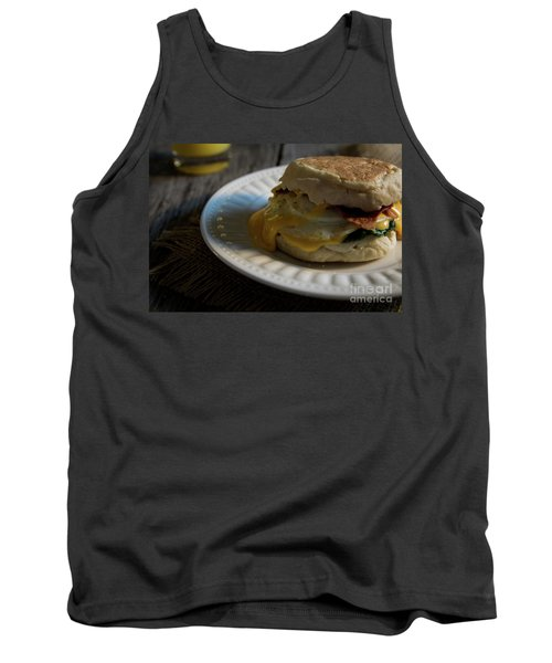 Tank Top featuring the photograph Bacon And Cheese by Deborah Klubertanz