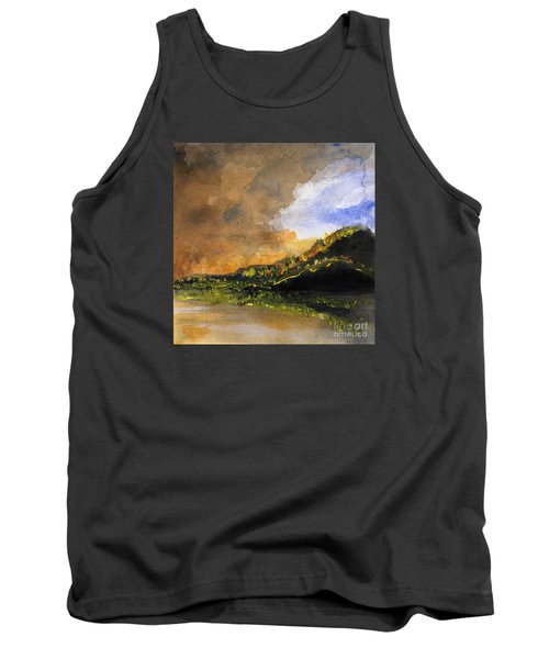 Bad Night Coming Cross The Bay Tank Top by Randy Sprout