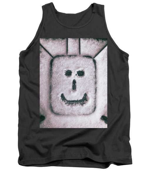Bad Weather, Good Face Tank Top