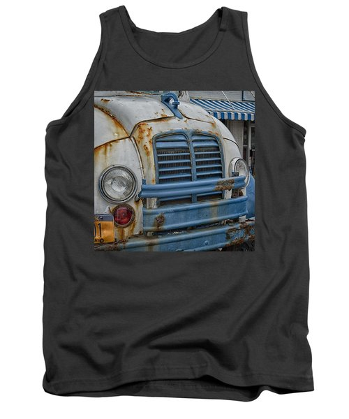 Badly Bruised Divco Tank Top