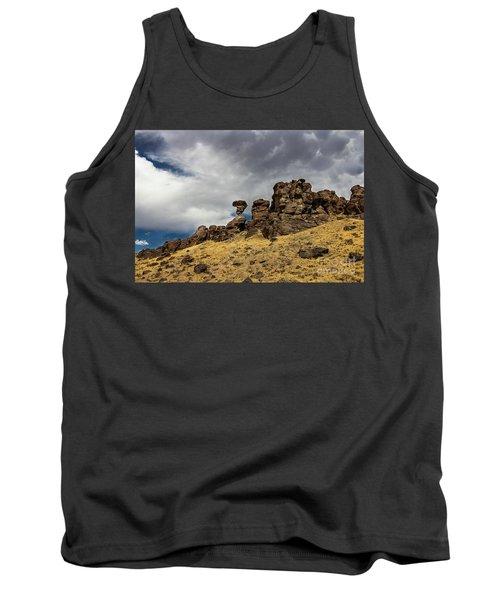 Balanced Rock Idaho Journey Landscape Photography By Kaylyn Franks Tank Top