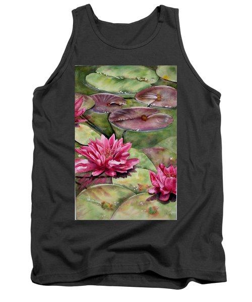 Balboa Water Lilies Tank Top