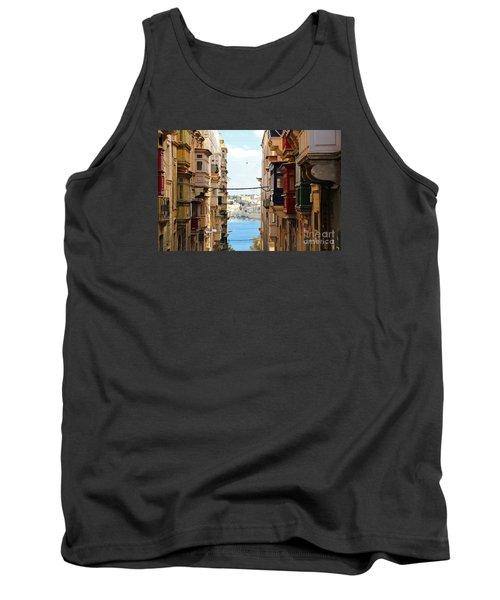 Balconies Of Valletta 2 Tank Top